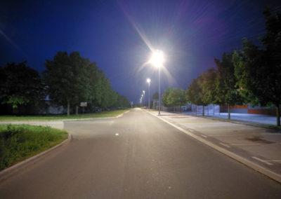Javna rasvjeta – Čakovec, Ulica Rudolfa Steinera