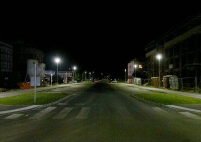 Javna rasvjeta – Čakovec, Ulica hrvatskih branitelja