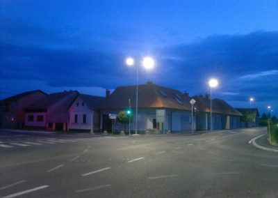 Javna rasvjeta – Mala Subotica, rekonstrukcija raskrižja