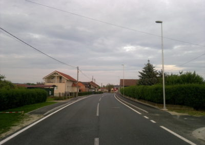 Javna rasvjeta - Mala Subotica, rekonstrukcija raskrižja (2)