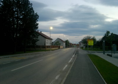 Javna rasvjeta - Mala Subotica, rekonstrukcija raskrižja (8)