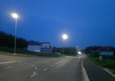 Javna rasvjeta - Mihovljan, Športska ulica (2)