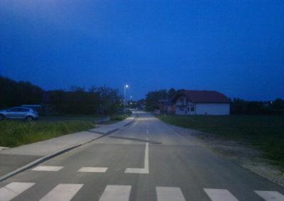 Javna rasvjeta - Mihovljan, Športska ulica (3)