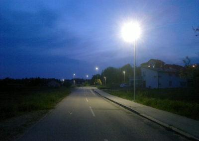 Javna rasvjeta - Mihovljan, Športska ulica (4)