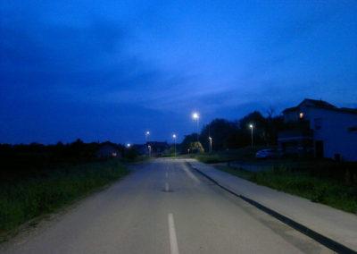 Javna rasvjeta - Mihovljan, Športska ulica (5)