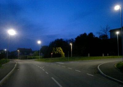 Javna rasvjeta - Mihovljan, Športska ulica (7)
