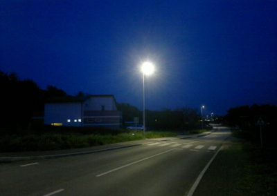 Javna rasvjeta - Mihovljan, Športska ulica (8)