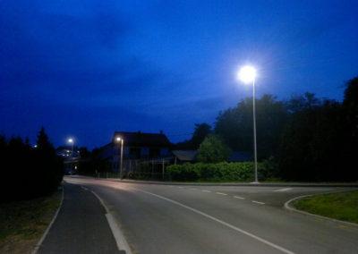 Javna rasvjeta - Mihovljan, Športska ulica (9)