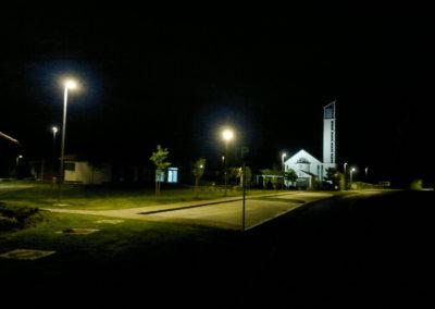 Javna rasvjeta - Podbrest, uređenje doma kulture i crkve (2)
