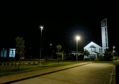 Javna rasvjeta - Podbrest, uređenje doma kulture i crkve (6)