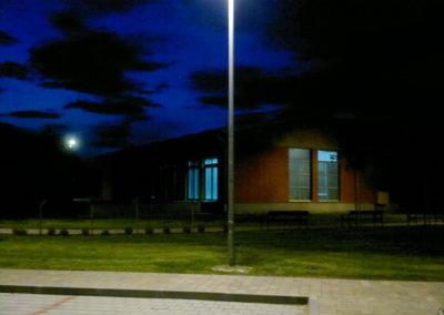 Javna rasvjeta - Podbrest, uređenje doma kulture i crkve (8)